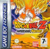 Jaquette Dragon Ball Z : Supersonic Warriors
