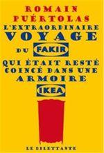 Couverture L'extraordinaire voyage du fakir qui était resté coincé dans une armoire Ikea