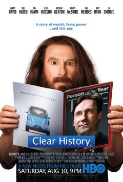 Affiche Clear History