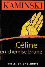 Couverture Céline en chemise brune