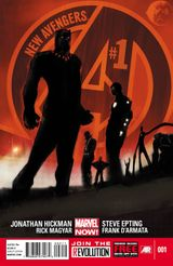 Couverture New Avengers (2013 - 2015)