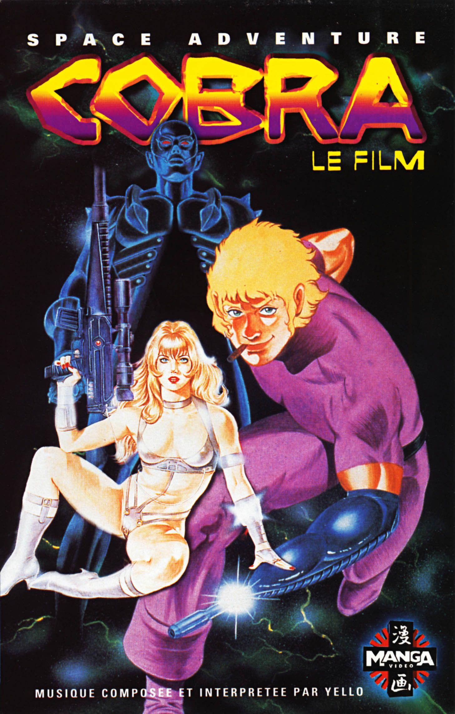 Animation - Manga : Sortie ciné TV-  DVD- Blu-Ray a pas louper - Page 3 Cobra_le_film