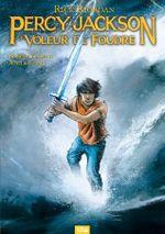 Couverture Le Voleur de foudre - Percy Jackson (BD), tome 1