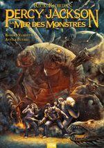Couverture La Mer des monstres - Percy Jackson (BD), tome 2