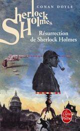 Couverture Sherlock Holmes - Résurrection de Sherlock Holmes