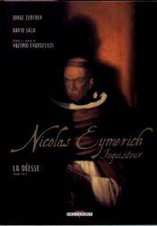Couverture La Déesse (1/2) - Nicolas Eymerich, inquisiteur (BD), tome 1