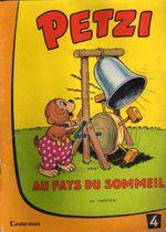 Couverture Petzi au pays du sommeil - Petzi (première série), tome 4
