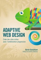 Couverture Adaptive Web Design