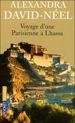 Couverture Voyage d'une parisienne à Lhassa