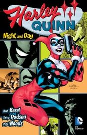 Couverture Harley Quinn : Night and Day