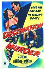 Affiche Destination Murder