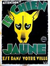 Affiche Le Chien jaune