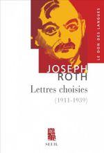 Couverture Lettres choisies 1911-1939