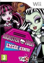 Jaquette Monster High : Lycée d'enfer