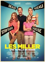Affiche Les Miller, une famille en herbe