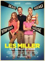 Affiche Les Miller, une famille en herbe