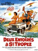 Affiche Deux enfoirés à Saint-Tropez
