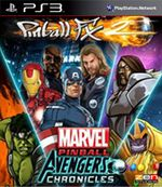 Jaquette Pinball FX 2 : Marvel Pinball - Avengers Chronicles Pack