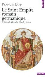 Couverture Le Saint Empire romain germanique