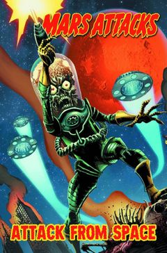 Couverture Attack from Space - Mars Attacks, tome 1
