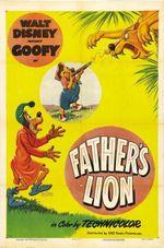Affiche Papa, c'est un lion