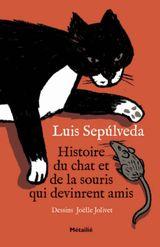 Couverture Histoire du chat et de la souris qui devinrent amis