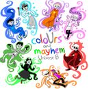 Pochette coloUrs and mayhem: Universe B