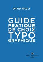 Couverture Guide pratique de choix typographique