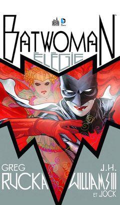 Couverture Élégie pour une ombre - Batwoman, tome 0