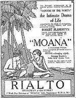 Affiche Moana