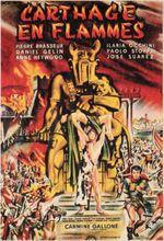 Affiche Carthage en flammes