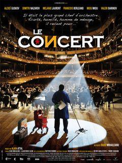 Affiche Le Concert