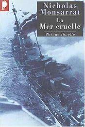Couverture La Mer cruelle