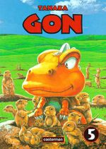 Couverture Gon, tome 5