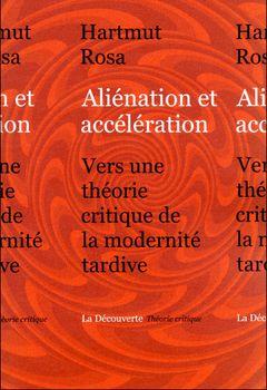 Couverture Aliénation et accélération