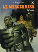 Couverture Géants - Le Mercenaire, tome 10