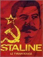 Affiche Staline, le tyran rouge