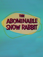 Affiche Abominable Snow Rabbit
