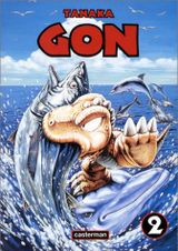 Couverture Gon, tome 2