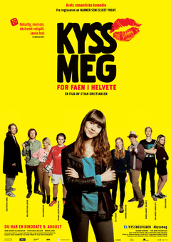 Affiche Kiss Me, You Fucking Moron