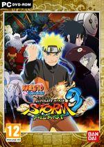 Jaquette Naruto Shippuden: Ultimate Ninja Storm 3 Full Burst