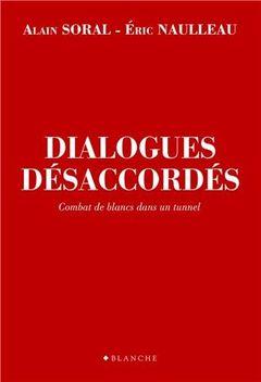 Couverture Dialogues désaccordés