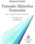 Couverture Portraits, mémoires, souvenirs
