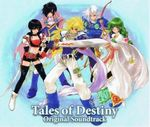 Pochette Tales of Destiny Original Soundtrack (OST)