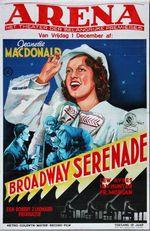 Affiche Broadway Serenade