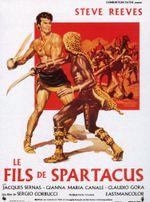 Affiche Le Fils de Spartacus