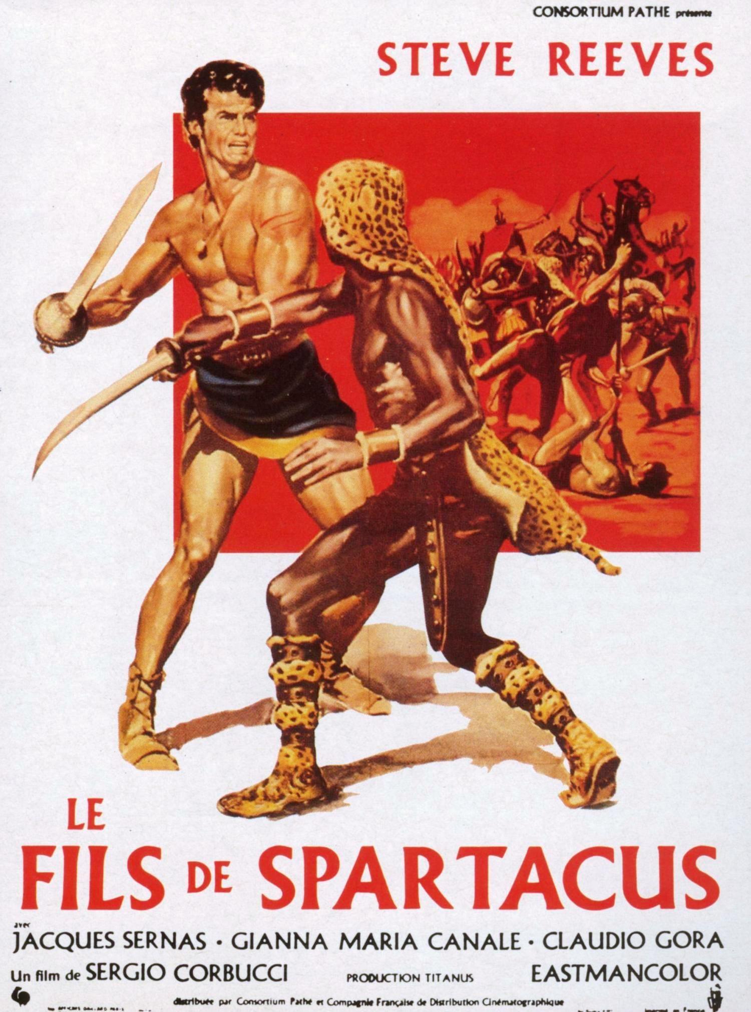 Filme Spartacus inside le fils de spartacus - film (1962) - senscritique