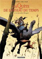 Couverture Le Chevalier Bragon - La Quête de l'oiseau du temps : Avant la quête, tome 4