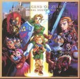 Pochette The Legend of Zelda: Ocarina of Time Original Sound Track (OST)