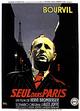 Affiche Seul dans Paris